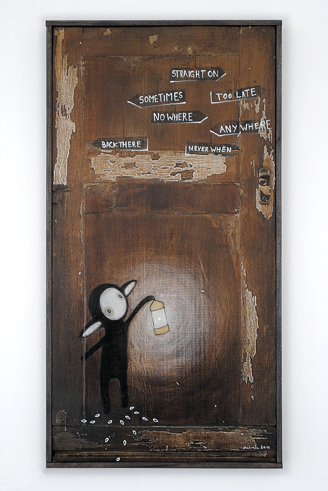 Directions, painting by minu
