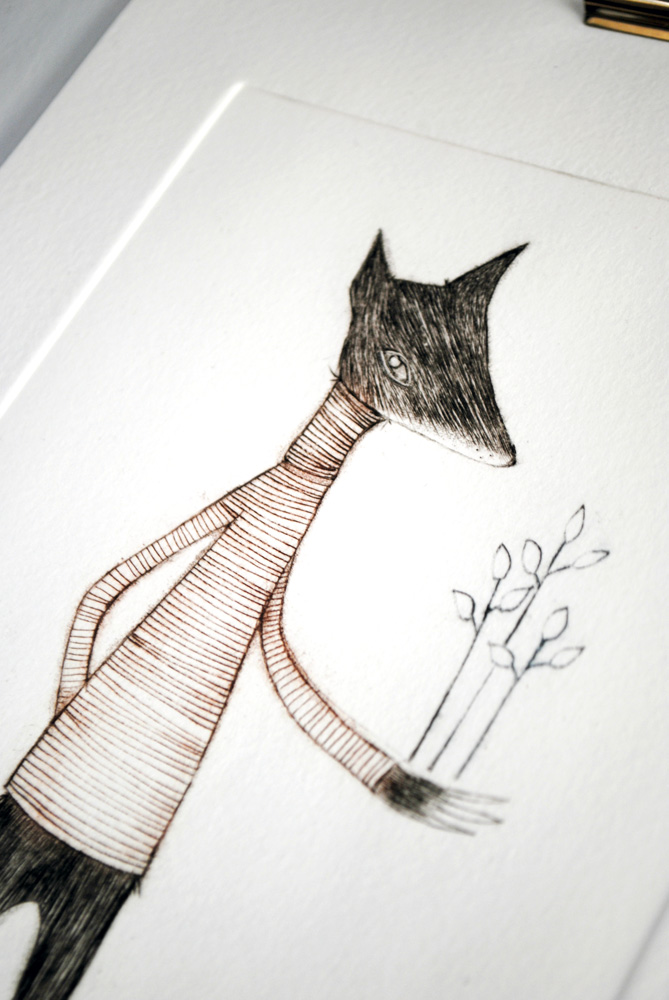 The Wolf and the Forest by minu