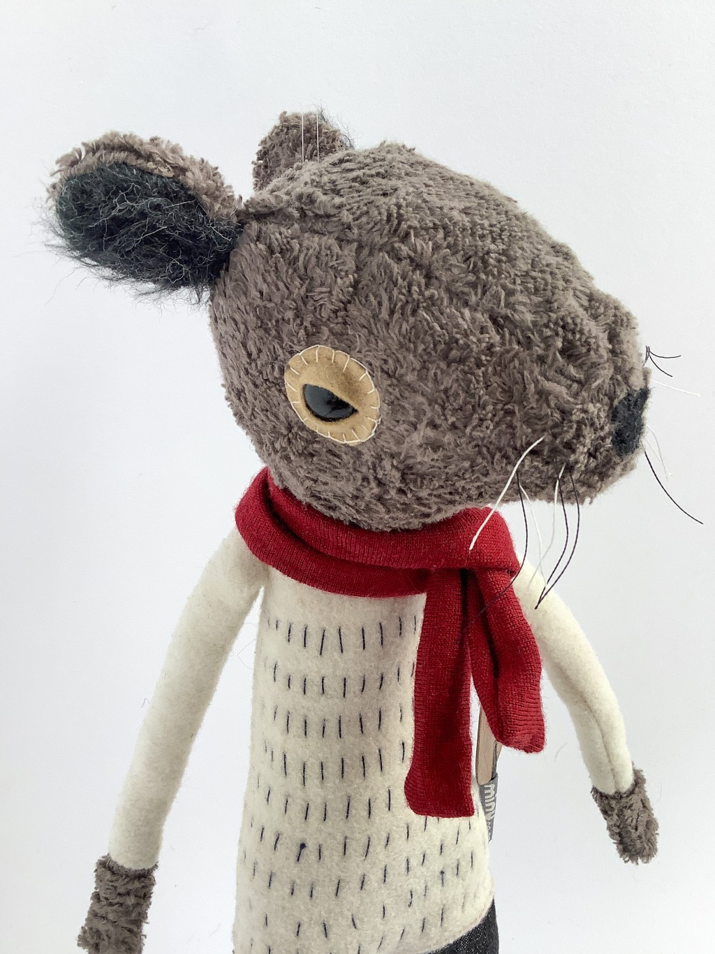 Ratty, Wind in the Willows - plush sculptures by minu